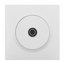 Legrand - Prise TV étoile blindée dooxie livrée avec plaque carrée blanche et griffes - Réf : 095017