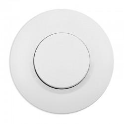 Legrand - Interrupteur ou va-et-vient dooxie 10AX 250V~ livré avec plaque ronde blanche et griffes - Réf : 095050