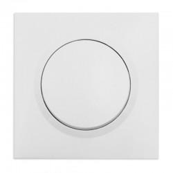 Legrand - Poussoir dooxie 6A 250V~ livré avec plaque carrée blanche et griffes - Réf : 095012