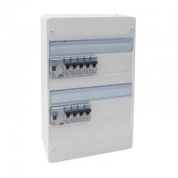 Legrand - Tableau électrique équipé et précâblé - spécial pour logement T1 ou T2 - Réf : 093055