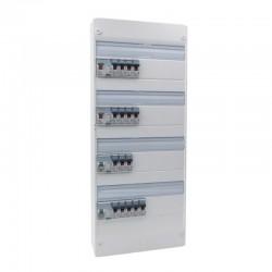 Legrand - Tableau électrique équipé et précâblé - spécial pour logement T6 - Réf : 09305