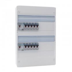 Legrand - Tableau électrique équipé et précâblé - pour logement T1 ou T2 - Réf : 093065