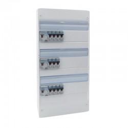 Legrand - Tableau électrique équipé et précâblé - spécial pour logement T4 - Réf : 093057