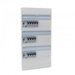 Legrand - Tableau électrique équipé et précâblé - spécial pour logement T5 - Réf : 093058