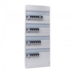 Legrand - Tableau électrique équipé et précâblé - pour logement T6 - Réf : 093069