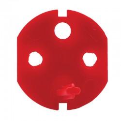 Legrand - Détrompeur pour fiche et prise de courant 2P+T - Réf : 050299