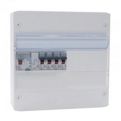 Legrand - Tableau électrique équipé et précâblé - 1 rangée 13 modules - Réf : 093061